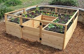 Best Raised Garden - best raised garden bed material raised garden bed wood stain