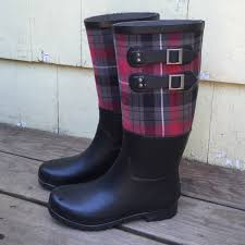 womens rubber boots size 9 ugg ugg s plaid sabene boots size 9 from s