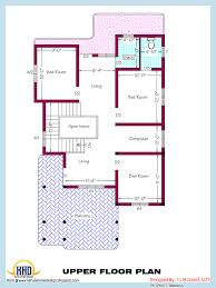 Two Floor House Plans In Kerala by 1000 Sq Feet House Plans Single Floor Plan On Design