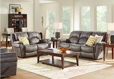 Find Living Room Furniture Shop For A Ansel Park Brown 5pc Classic Living Room At Rooms To Go