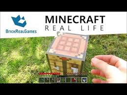 How To Make A Crafting Table Minecraft How To Make A Portal To Real Life No Mods