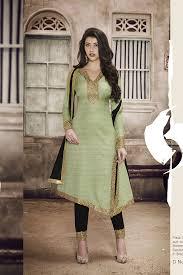 light green color khadi silk fabric salwar suit hetal u0027s boutique