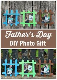 father u0027s day diy photo gift with mess free paint option thrifty