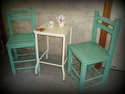 deco shabby chic mesa mesita y sillas deco shabby chic vintage patio balcon