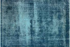 Turquoise Rug 5x7 Traditional Veg Dyed Overdyed 5x7 Blue Hand Knotted Oriental Wool
