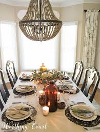 how to set a casual but thanksgiving table worthing court