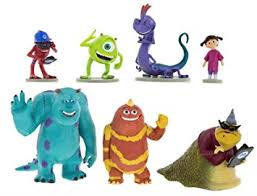 monsters inc cake toppers disney parks monsters inc collectible figurine playset play set