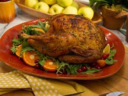 crispy skinned herb roasted turkey recipe jeff mauro food network
