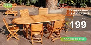 tavolo da giardino prezzi tavoli in teak e tavoli in iroko in offerta pignataroshop