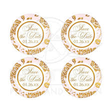 save the date stickers save the date wedding sticker vintage floral blush pink ivory