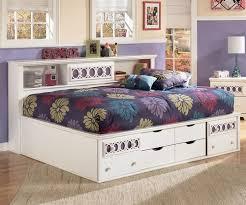 ashley furniture zayley full bedside storage bed for girls
