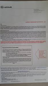 lexus service program letter from lexus headlight condensation page 3 clublexus