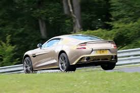 rose gold aston martin spy shots aston martin vanquish shows us up in a new shade at the