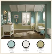 sea glass bathroom ideas white fixtures complement soft sea glass green and gold in
