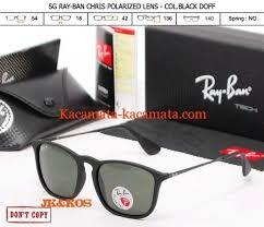 Harga Kacamata Rayban Sunglasses kacamata rayban chris polarized kaca mata