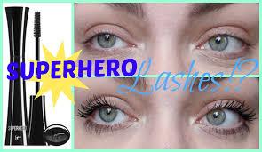 let u0027s test it cosmetics superhero mascara youtube
