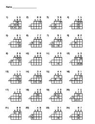 2 digit times 2 digit multiplication worksheets worksheets
