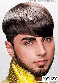 Frisuren Lange Haare Cosmoty by Exakte Konturen Wirken Stylisch Im Glatten Haar Männer Frisuren