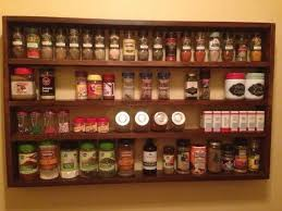 Spice Rack For Wall Mounting Best 25 Large Spice Rack Ideas On Pinterest Large Kitchen Spice