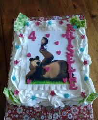 masha bear cake u2013 decoration ideas birthday cakes