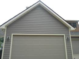 Color House by Close Up Of Lp Smartside Siding Custom Color Above Garage