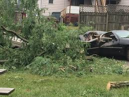 pequot car storm damage leaves 1 dead power outages and several road