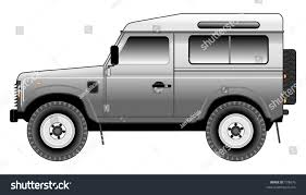 land rover logo vector land rover defender 90 csw tinted stock vector 778876 shutterstock