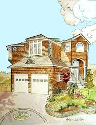 beach house art shore house painting custom home painted in
