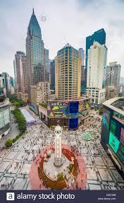 jiefang logo china chongqing city jiefangbei central district plaza times
