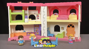 Fisher Price Doll House Furniture Little People Surprise U0026 Sounds Home From Fisher Price Youtube