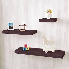 Espresso Floating Shelves by Wall Shelves 36