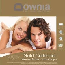 Goose Down Feather Bed Topper Downia Gold Collection Goose Down And Feather Mattress Topper