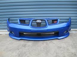 subaru gdb subaru impreza wrx gdb sti 2007 front bumper bar cover grill fog