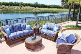 Cushion Covers For Patio Furniture Rattan Chair With Cushion Blue L With Back Chair Wicker