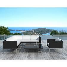 canape d exterieur design salon exterieur design table jardin avec banc maisondours