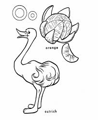 alphabet coloring pages o words alphabet coloring pages of