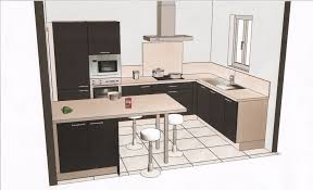 plan table de cuisine plan de cuisine amenagee lzzy co
