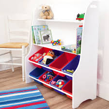 Toy Storage Bookcase Unit White Toy Sorter Jojo Maman Bebe