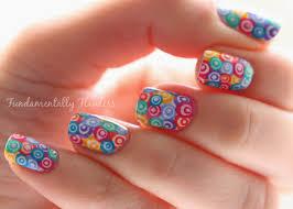 fundamentally flawless murano glass concentric rainbow nail art