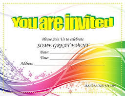 party invitation party invitation template word marialonghi