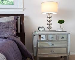 home goods mirrored nightstand modern bedroom ideas with