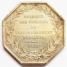 chambre des notaires de l eure jeton chambre des notaires de l arrondissement d andelys eure argent