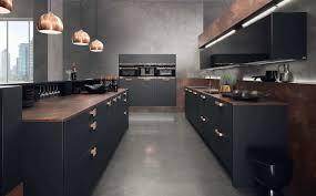 schwarze küche bilder ideen für dunkle küchen küchenfinder magazin