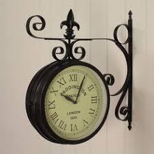 large vintage style grey wall clock grey wall clocks wall
