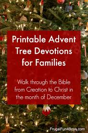 and print advent tree devotions