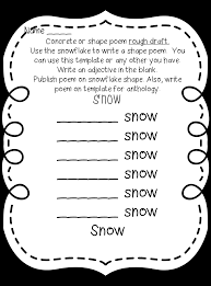 Halloween Acrostic Poem Template First Grade Wow Poetry Unit Updated
