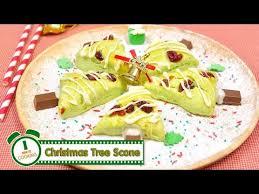 minute cuisine สโคนต นคร สต มาส tree scone 1 minute cooking