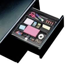 Post It Desk Organizer 3m Post It C71 Desk Drawer Organizer Black