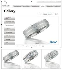 novell wedding bands luxury palladium highlights classic palladium wedding bands
