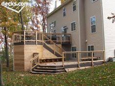 second level deck designs deck plans at dream home source deck